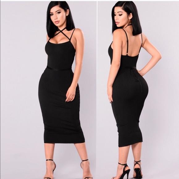 1ec5359fac Fashion Nova Berlin bandage dress